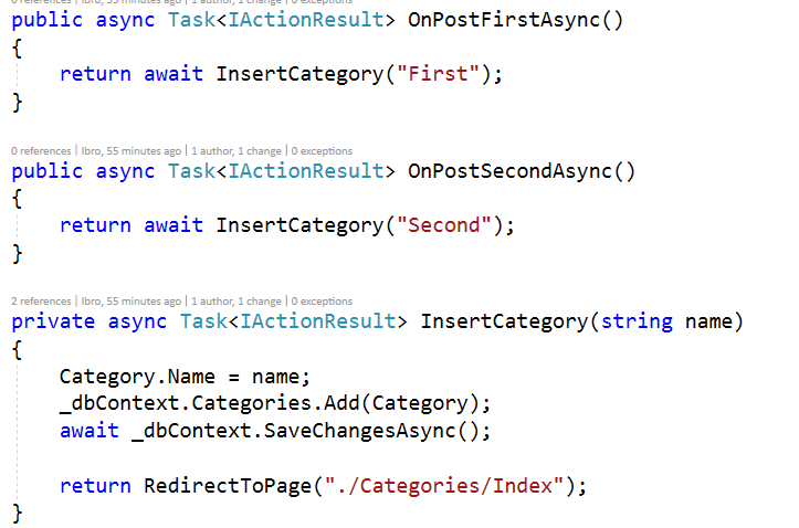 ASP.NET Core Razor Pages - Handler Methods - CodingBlast